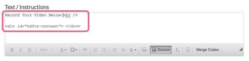 Intro text example.