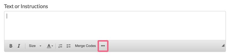 SurveyGizmo's 3 dots icon.